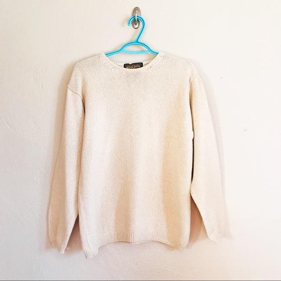 Woolrich Medium  Long Sleeve Pull Over Sweater